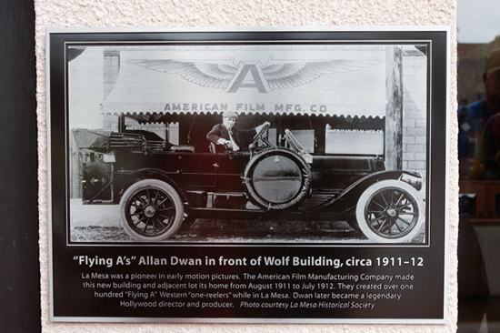 The Flying A Centennial Plaque